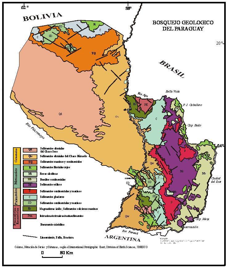 Mapa Geológico Actualizado